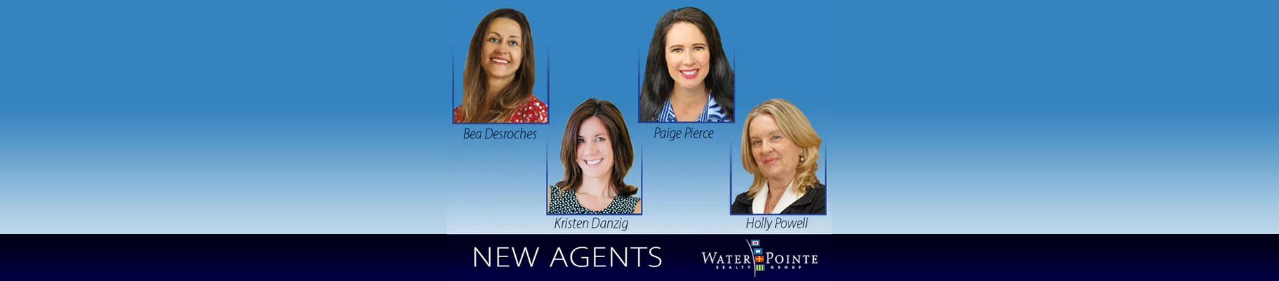 Four New Agents Join Water Pointe Realty Group, Tequesta